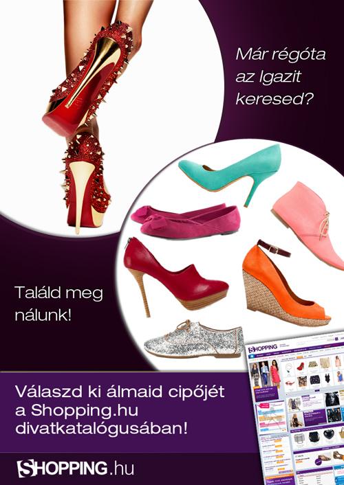 online cipővásárlás