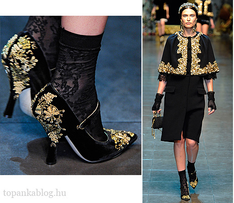Dolce & Gabbana Fall 2012 Milan Fashion Week