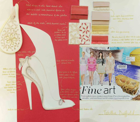 Tabitha Duffield nőies cipőskicc