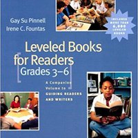 'DOCX' Leveled Books For Readers, Grades 3-6: A Companion Volume To Guiding Readers And Writers. stock dining Pijama training muebles