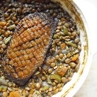 Slowcook meats fast food: lencse sólet kacsamellel
