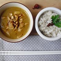 Thai sárga curry csirkével: köszi Edison!