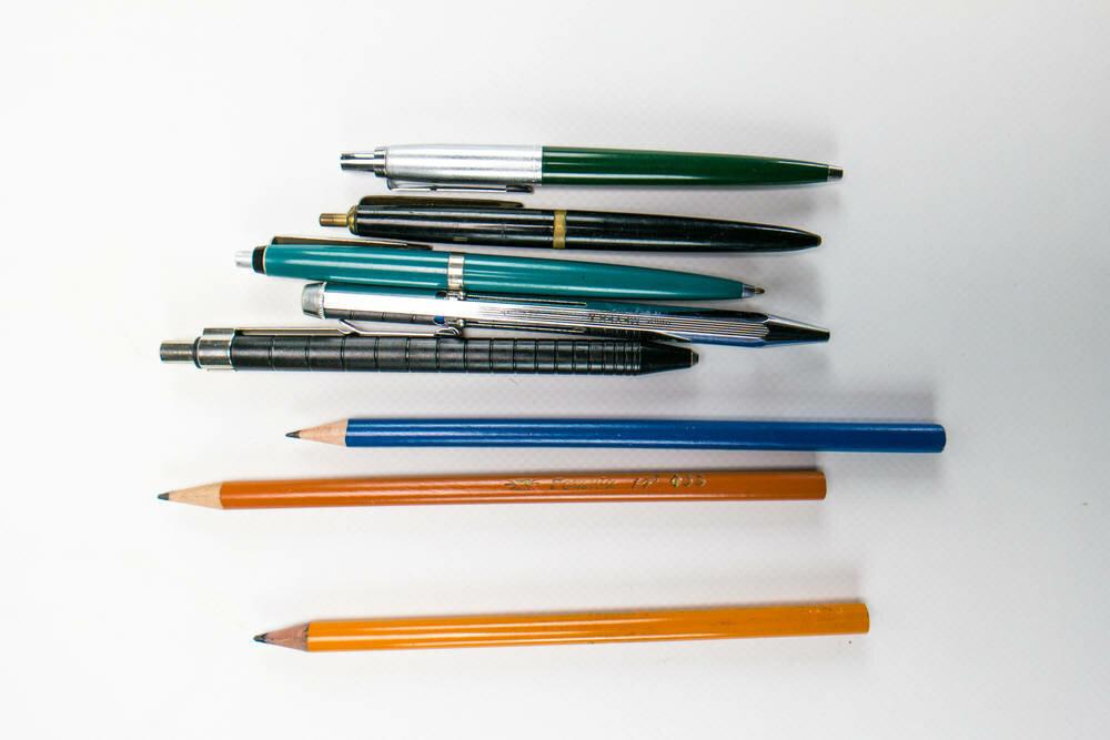 A híres négyszínű toll és a Pax toll. Forrás: DDR Museum - Berlin