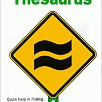 A Pocket Guide Thesaurus (Pocket Guide Series) Mobi Download Book