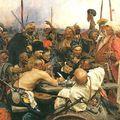 A zaporozsjei kozákok levelet írnak a török szultánnak