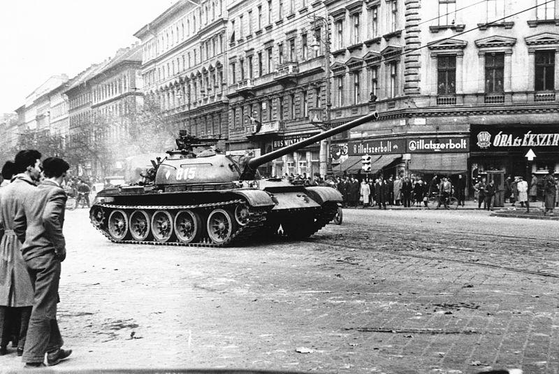 Séta Budapesten 1956 októberében