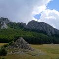 Újra a völgyben - A Székelykő északi sziklái