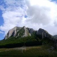 A Székelykő északi fala