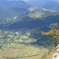 Kilátás a Torockó patak völgyére (Észak felé)