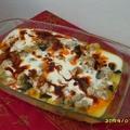 Joghurtos sült zöldség