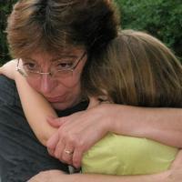 A legkisebb lányom és én - miután meghalt a nagyanyja, az anyám