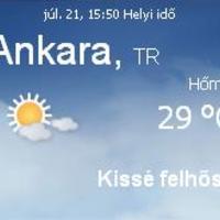 Törökország aktuális időjárás előrejelzés, 2010. július 28.