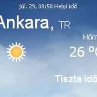 Törökország aktuális időjárás előrejelzés, 2010. július 29.