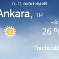 Törökország aktuális időjárás előrejelzés, 2010. július 23.