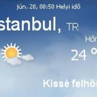 Törökország aktuális időjárás előrejelzés, 2010. június 28