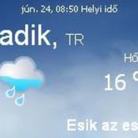 Törökország aktuális időjárás előrejelzés, 2010. június 24.