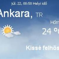 Törökország aktuális időjárás előrejelzés, 2010. július 22.