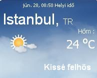 törökország 2010 aktuális időjárás előrejelzés, 2010. június 28