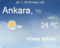 törökország 2010 aktuális időjárás előrejelzés, 2010. július 7.