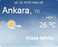 Törökország időjárás