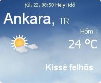 törökország 2010 időjárás előrejelzés