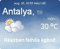 2010 időjárás előrejelzés információ törökország törökországi