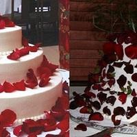 Esküvői torta kiskáté