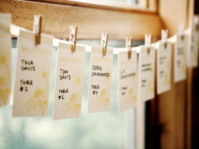 Üdvözlőkártya virágmaggal- meglepetés a vendégeknek