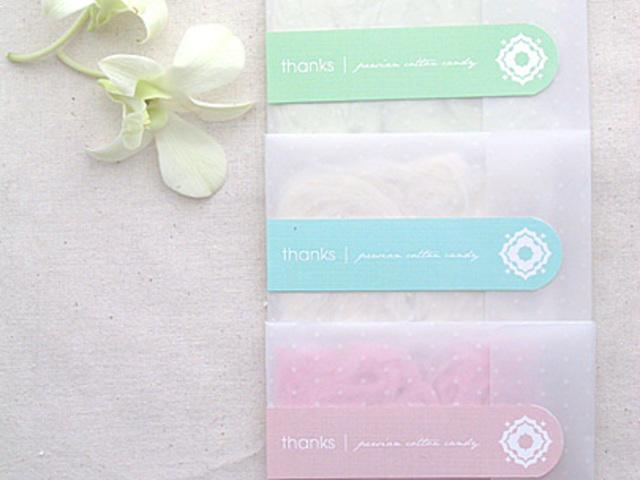 DIY Cotton Candy köszönőajándék