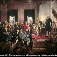 227 éve fogadták el az USA alkotmányát. Az amerikai történelem kezdetei [31.]