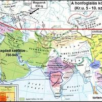 Civilizációs választóvonal, honfoglalásunk idején [28.]