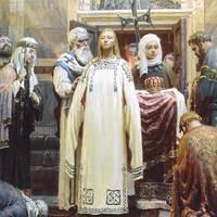 Szent Olga, a Kijevi Rusz fejedelemasszonya