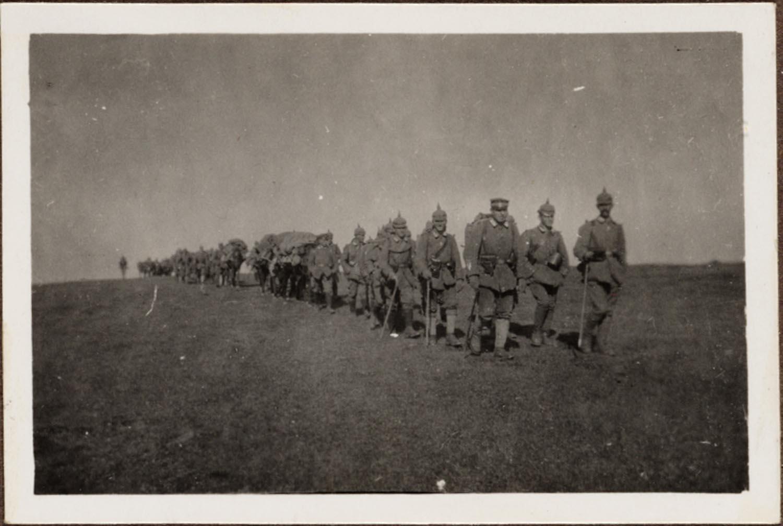 Német katonai képek Erdély védelmében 1916-18