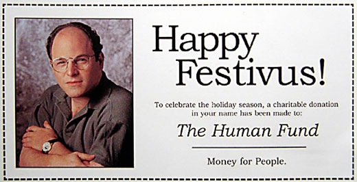 George Costanza fesztivusz- a Festivus for the rest of us