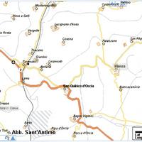 2.nap: Abbazia di Sant'Antimo - Pienza