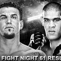 TD|MMA: UFC Fight Night 61: Bigfoot vs Mir mérkőzések videói