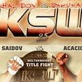 KSW 25: Khalidov vs Sakurai 2 eredmények