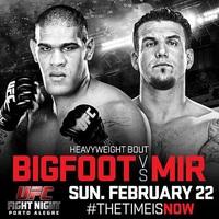 TD|MMA: UFC Fight Night 61: Bigfoot vs Mir mérlegelés élőben itt!
