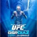 UFC 158: GSP vs Diaz gála mérkőzései
