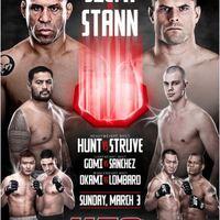 UFC on Fuel 8: Silva vs Stann gála mérkőzései