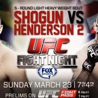 UFC Fight Night 38: Shogun vs Henderson II eredmények