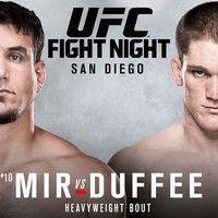 TD|MMA: UFC Fight Night 71: Mir vs. Duffee mérkőzések videói