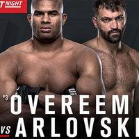 TD|MMA: UFC Rotterdam: Overeem vs Arlovski élő közvetítés