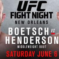TD MMA: UFC Fight Night 68: Boetsch vs. Henderson élő közvetítés
