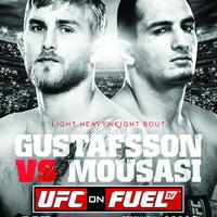 Gustafsson vs Mousasi hivatalos poszter