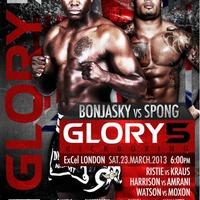 Glory 5: Bonjasky vs Spong előzetes