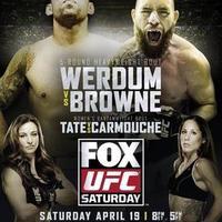 UFC on FOX 11: Werdum vs Browne mérkőzések videói
