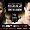 GLORY 14 Zágráb: Cro Cop vs Bonjasky előzetes