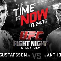 TD|MMA: UFC on FOX 14: Gustafsson vs Johnson élő közvetítés