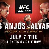 TD|MMA: UFC Fight Night 90: dos Anjos vs. Alvarez mérkőzések videói